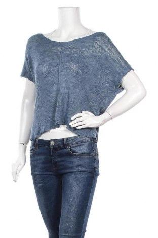 Γυναικείο πουλόβερ Zara, Μέγεθος M, Χρώμα Μπλέ, Βισκόζη, Τιμή 6,62€
