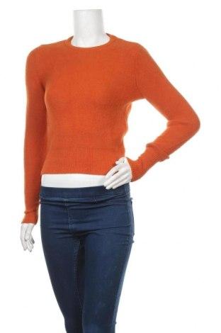 Γυναικείο πουλόβερ Zara, Μέγεθος S, Χρώμα Πορτοκαλί, 88% πολυαμίδη, 8% βισκόζη, 4% πολυεστέρας, Τιμή 23,12€