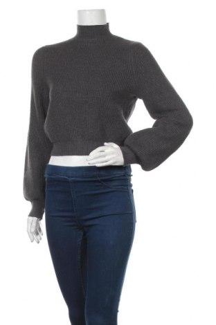 Γυναικείο πουλόβερ Zara, Μέγεθος S, Χρώμα Γκρί, 47% βισκόζη, 27% πολυαμίδη, 26% πολυεστέρας, Τιμή 19,77€