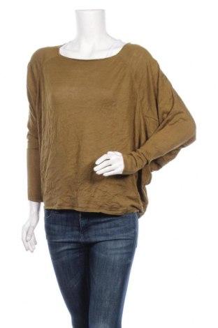 Дамски пуловер Zara Knitwear, Размер M, Цвят Зелен, Цена 11,76лв.