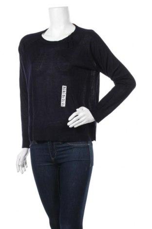 Дамски пуловер Zara Knitwear, Размер M, Цвят Син, 50% вискоза, 50% акрил, Цена 20,70лв.