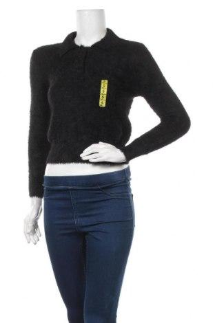 Дамски пуловер Zara Knitwear, Размер S, Цвят Черен, 74% полиамид, 16% вискоза, 10% полиестер, Цена 20,70лв.