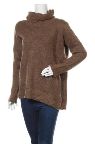 Γυναικείο πουλόβερ Zizzi, Μέγεθος XL, Χρώμα Καφέ, Τιμή 13,45€