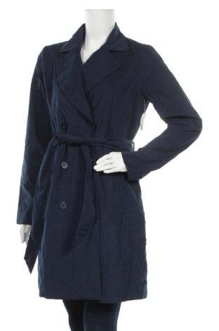 Дамски шлифер, Размер S, Цвят Син, 90% полиестер, 10% полиамид, Цена 23,10лв.