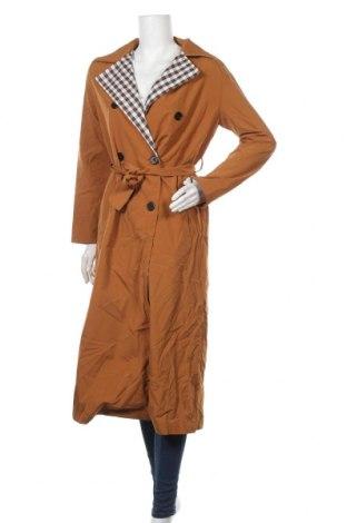 Дамски шлифер Ivivi, Размер M, Цвят Бежов, Полиестер, Цена 45,68лв.