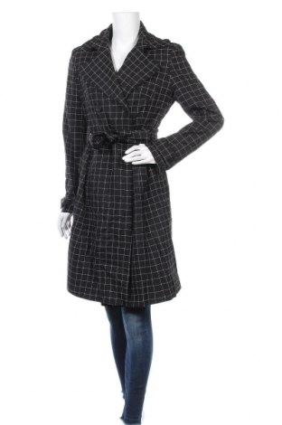 Дамски шлифер Un Deux Trois, Размер M, Цвят Черен, Вълна, Цена 60,48лв.