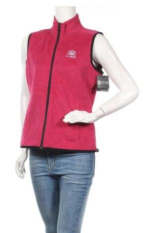Дамски спортен елек Gear, Размер M, Цвят Розов, 80% памук, 20% полиестер, Цена 19,85лв.
