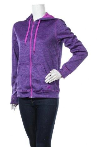 Γυναικείο φούτερ Adidas, Μέγεθος S, Χρώμα Βιολετί, Πολυεστέρας, Τιμή 18,19€