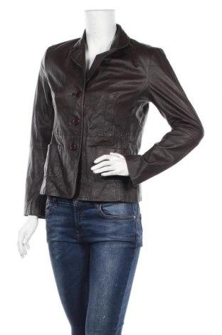 Γυναικείο δερμάτινο σακάκι B.C. Best Connections, Μέγεθος M, Χρώμα Καφέ, Γνήσιο δέρμα, Τιμή 51,31€