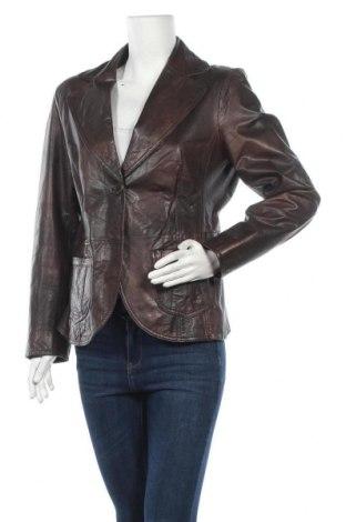 Дамско кожено сако Bonita, Размер M, Цвят Кафяв, Естествена кожа, Цена 65,10лв.