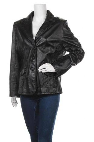 Дамско кожено сако Your Sixth Sense, Размер XL, Цвят Черен, Естествена кожа, Цена 67,20лв.