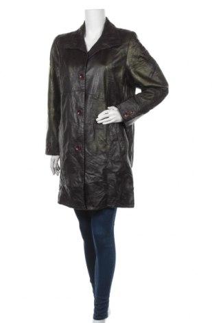 Γυναικείο δερμάτινο μπουφάν, Μέγεθος L, Χρώμα Πολύχρωμο, Γνήσιο δέρμα, Τιμή 17,73€