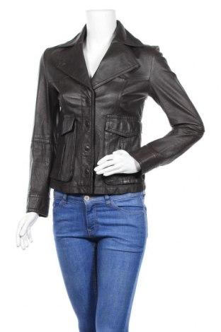 Γυναικείο δερμάτινο μπουφάν Apart, Μέγεθος XS, Χρώμα Μαύρο, Γνήσιο δέρμα, Τιμή 21,60€
