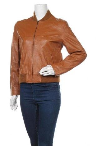 Γυναικείο δερμάτινο μπουφάν Apart, Μέγεθος S, Χρώμα Καφέ, Γνήσιο δέρμα, Τιμή 81,84€