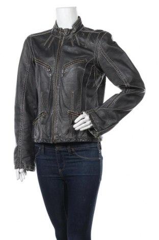 Γυναικείο δερμάτινο μπουφάν Apart, Μέγεθος M, Χρώμα Μαύρο, Γνήσιο δέρμα, Τιμή 31,92€
