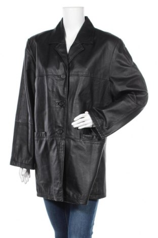 Дамско кожено яке Barisal, Размер XL, Цвят Черен, Естествена кожа, Цена 23,91лв.