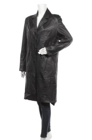 Дамско кожено яке Cabrini, Размер XL, Цвят Черен, Естествена кожа, Цена 24,15лв.