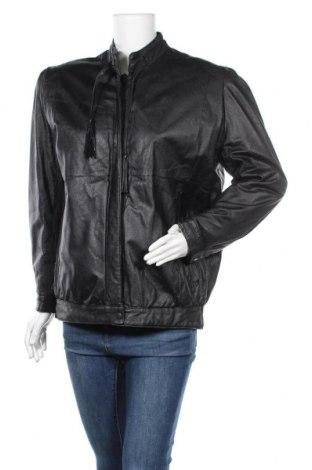 Дамско кожено яке Canda, Размер L, Цвят Черен, Естествена кожа, Цена 19,43лв.