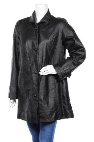 Дамско кожено яке Canda, Размер L, Цвят Черен, Естествена кожа, Цена 25,12лв.