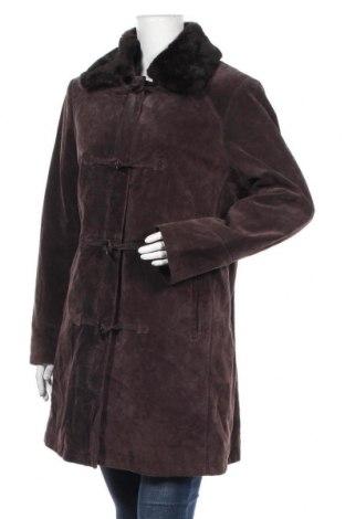 Дамско кожено яке Canda, Размер XL, Цвят Кафяв, Естествена кожа, Цена 41,23лв.