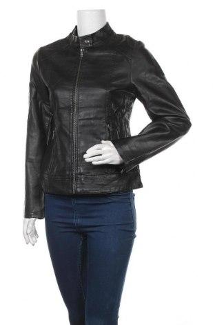 Дамско кожено яке Capture, Размер M, Цвят Черен, Еко кожа, Цена 40,90лв.