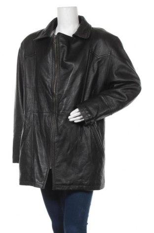 Дамско кожено яке Intense, Размер L, Цвят Черен, Естествена кожа, Цена 21,78лв.