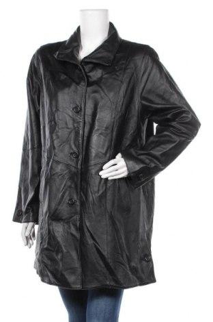 Γυναικείο δερμάτινο μπουφάν Jcc, Μέγεθος L, Χρώμα Μαύρο, Γνήσιο δέρμα, Τιμή 17,96€