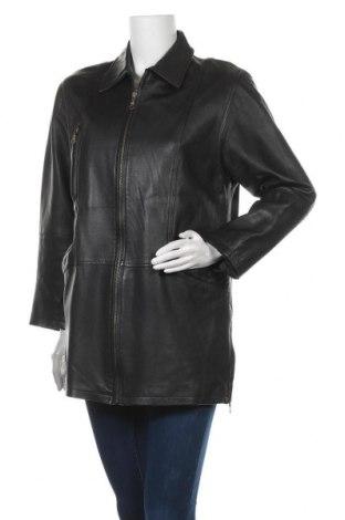 Дамско кожено яке Joy, Размер S, Цвят Черен, Естествена кожа, Цена 20,16лв.