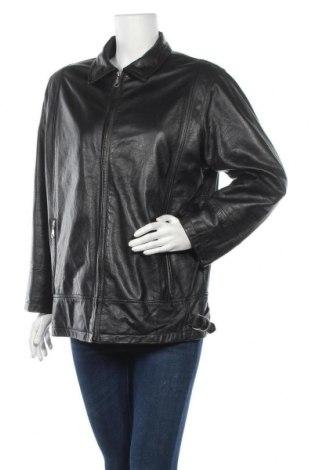 Дамско кожено яке Joy, Размер M, Цвят Черен, Естествена кожа, Цена 63,84лв.