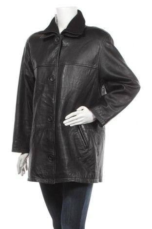 Дамско кожено яке Joy, Размер L, Цвят Черен, Естествена кожа, Цена 22,58лв.