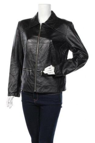 Γυναικείο δερμάτινο μπουφάν Mac Douglas, Μέγεθος XL, Χρώμα Μαύρο, Γνήσιο δέρμα, Τιμή 59,63€