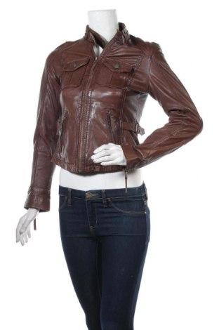Дамско кожено яке Oakwood, Размер S, Цвят Кафяв, Естествена кожа, Цена 105,32лв.