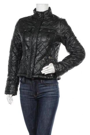Дамско кожено яке Peckott, Размер S, Цвят Черен, Еко кожа, Цена 45,52лв.