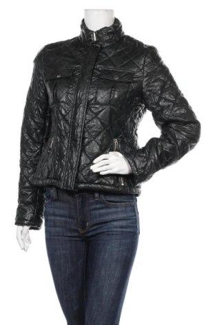 Дамско кожено яке Peckott, Размер S, Цвят Черен, Еко кожа, Цена 40,16лв.