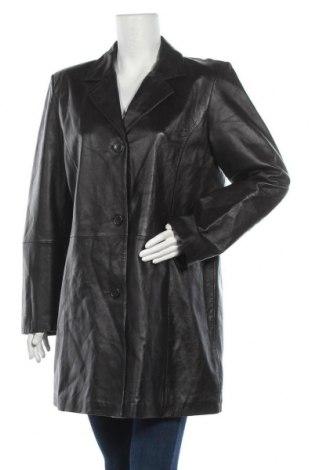 Γυναικείο δερμάτινο μπουφάν TCM, Μέγεθος XL, Χρώμα Καφέ, Γνήσιο δέρμα, Τιμή 17,96€
