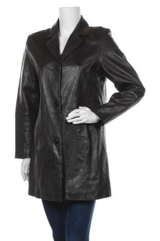 Дамско кожено яке TCM, Размер M, Цвят Кафяв, Естествена кожа, Цена 19,95лв.