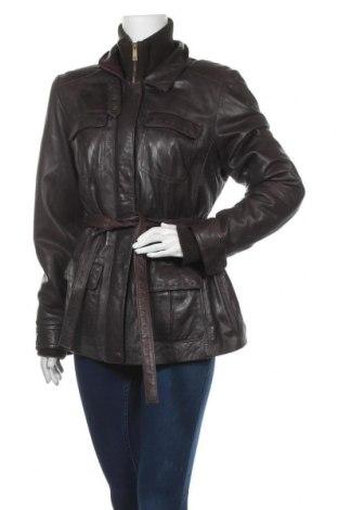 Дамско кожено яке TCM, Размер XL, Цвят Кафяв, Естествена кожа, Цена 59,85лв.