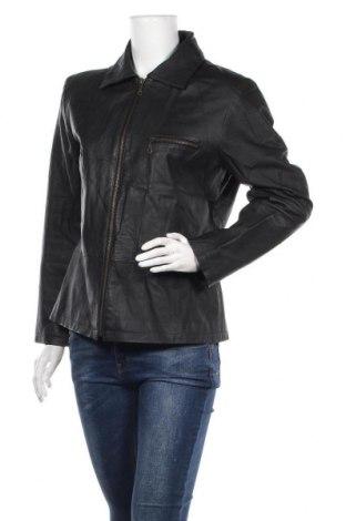 Γυναικείο δερμάτινο μπουφάν Woodpecker, Μέγεθος L, Χρώμα Μαύρο, Γνήσιο δέρμα, Τιμή 18,41€