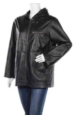 Γυναικείο δερμάτινο μπουφάν Woodpecker, Μέγεθος L, Χρώμα Μαύρο, Γνήσιο δέρμα, Τιμή 37,51€