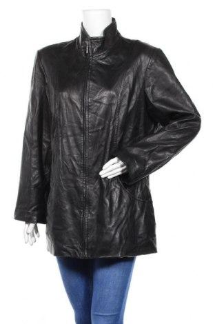 Дамско кожено яке Worthington, Размер XL, Цвят Черен, Естествена кожа, Цена 27,30лв.