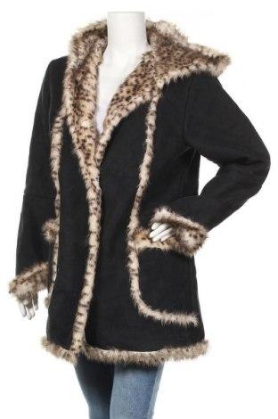 Дамско палто, Размер M, Цвят Черен, Полиестер, Цена 21,84лв.