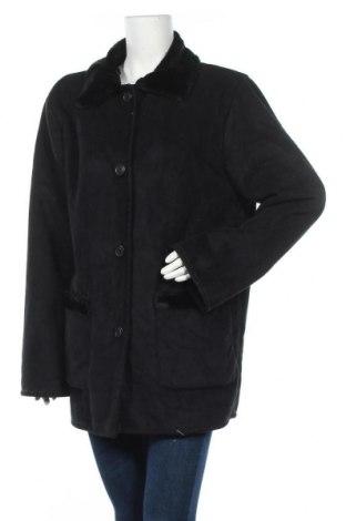 Дамско палто, Размер XL, Цвят Черен, Полиестер, Цена 15,49лв.