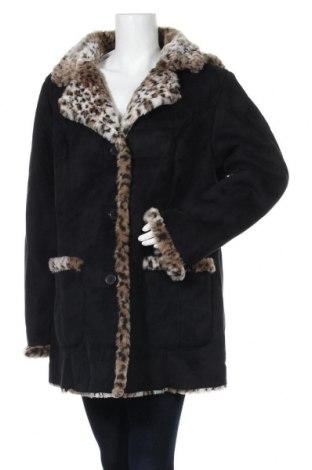 Дамско палто, Размер XL, Цвят Черен, Полиестер, Цена 30,45лв.