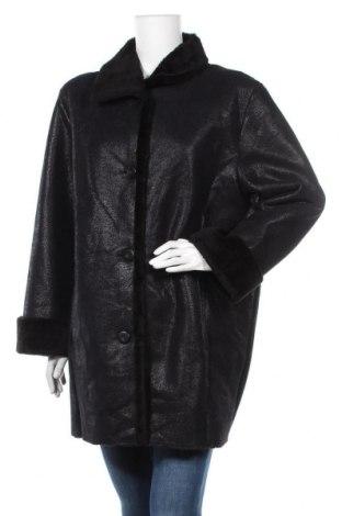 Дамско палто, Размер XL, Цвят Черен, Полиестер, Цена 13,65лв.