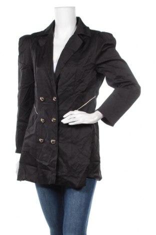 Дамско палто, Размер XL, Цвят Черен, Цена 7,66лв.