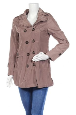Дамско палто, Размер S, Цвят Кафяв, Полиестер, Цена 11,03лв.