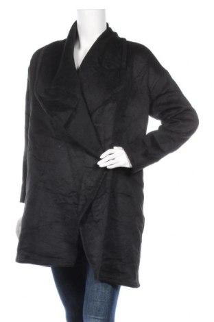 Дамско палто, Размер M, Цвят Черен, Цена 32,08лв.
