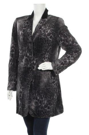 Дамско палто, Размер L, Цвят Сив, Полиестер, Цена 36,96лв.