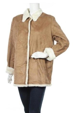 Дамско палто, Размер L, Цвят Кафяв, Полиестер, Цена 17,01лв.