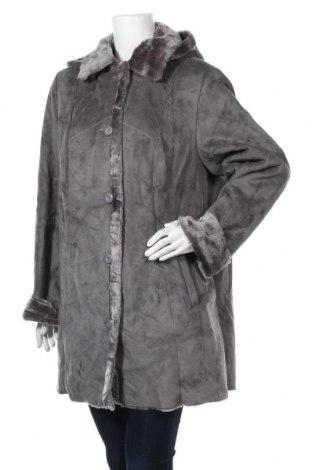 Дамско палто, Размер XL, Цвят Сив, Полиестер, Цена 42,53лв.